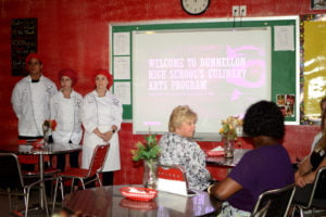 Dunnellon High School culinary class