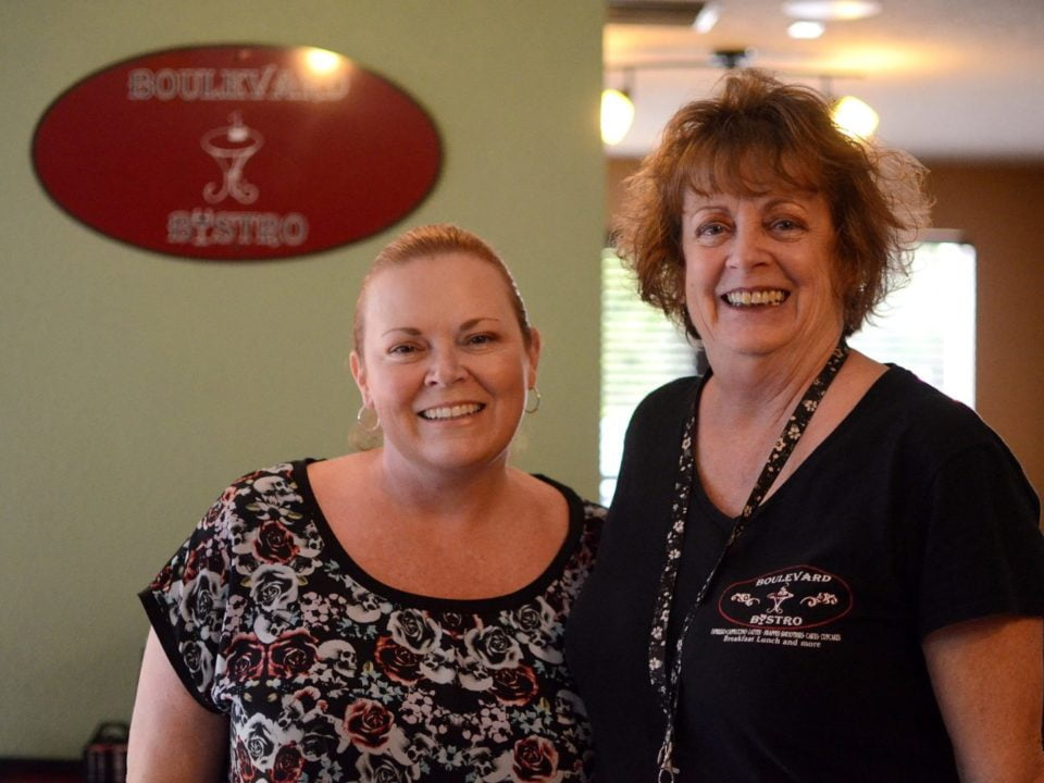 Michelle and Kathy Boulevard Bistro