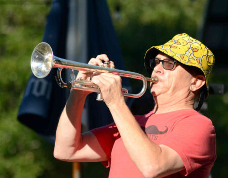 """Jeff Buchko plays """"First Call"""" on the trumpet"""